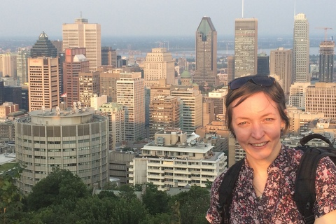 Patricia Lima on Mount Royal