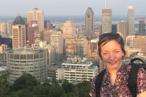 Patricia Lima on Mount Royal