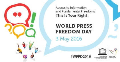 World Press Freedom Day 2016