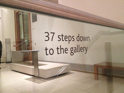 Photo - 37 steps down to the gallery (cc) flickr user https://flickr.com/photos/suda/