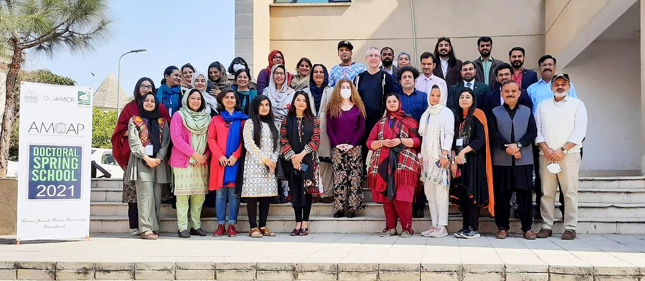 Participants of the second AMCAP Doctoral Spring School