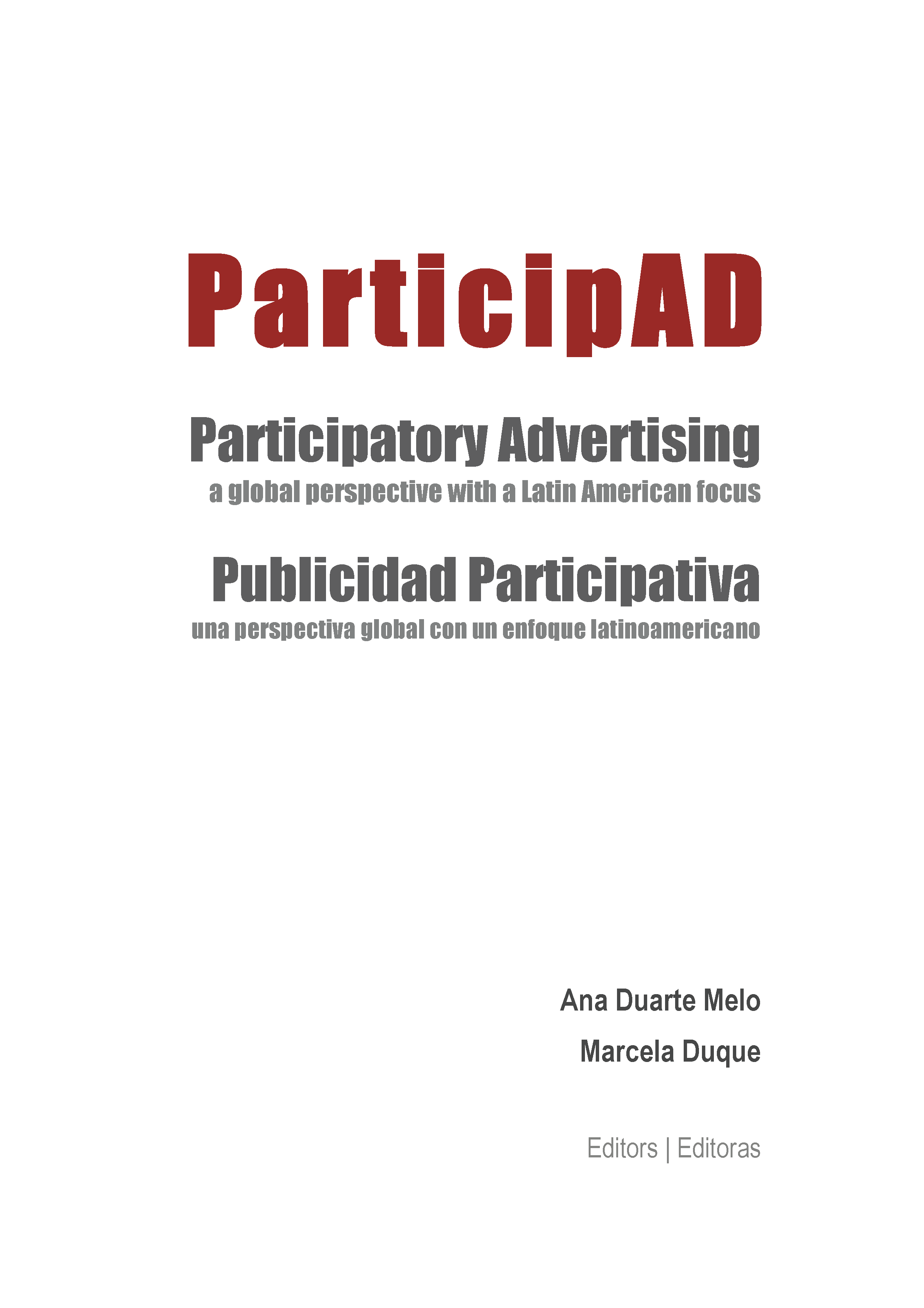 ParticipAD – Participatory advertising: a global perspective with a Latin American focus