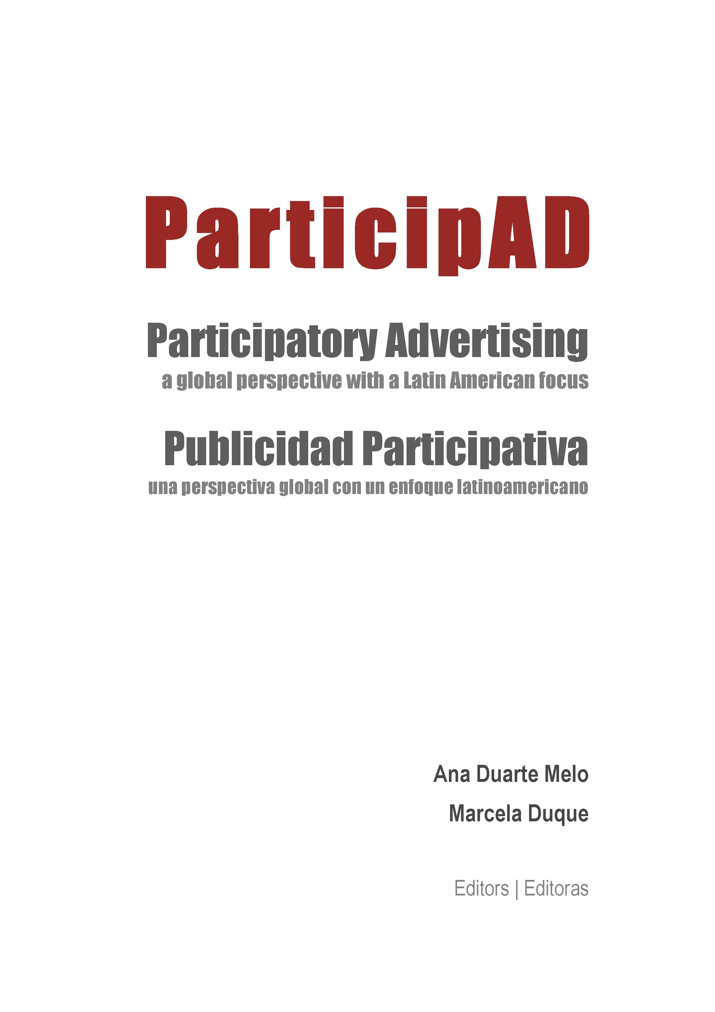 ParticipAD – Publicidad Participativa: una perspectiva global con un enfoque Latinoamericano