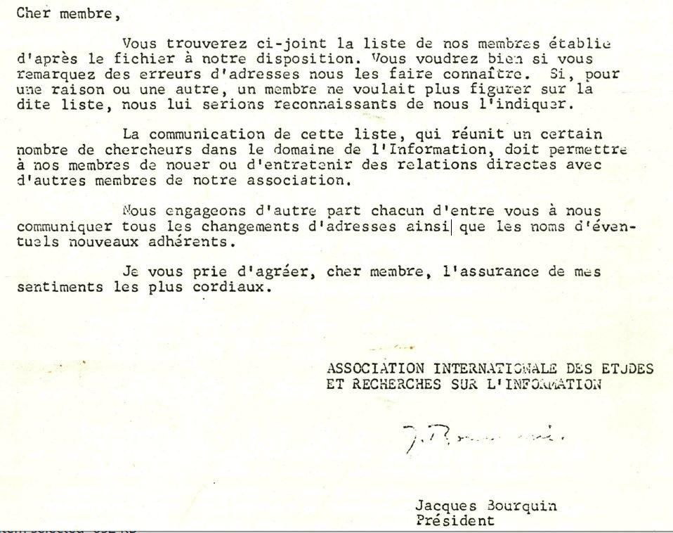 Bourquin April 1965