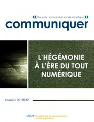 Communiquer: Revue de communication sociale et publique