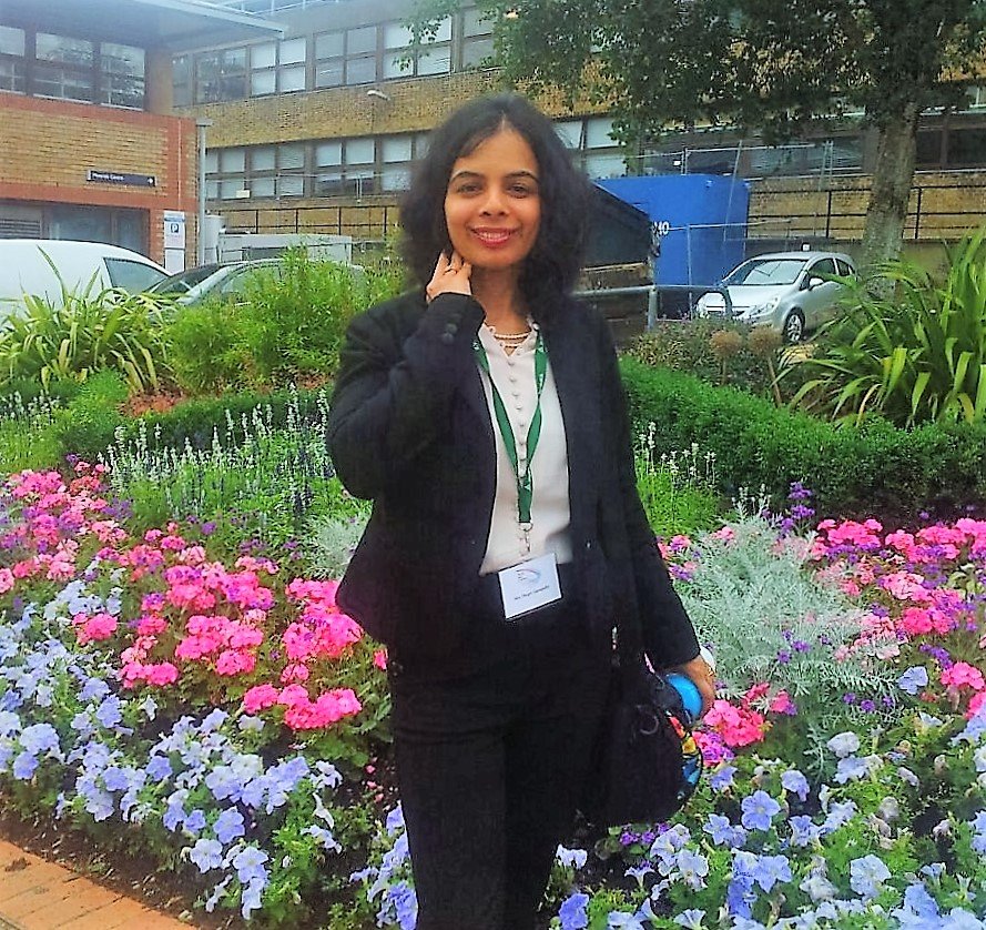 Deepti Ganapathy at Leicester