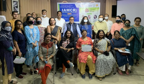 Participants of the IAMCR India Regional Conclave 2021 in Kolkata