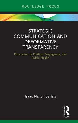 Cover of book Strategic Communication and Deformative Transparency
