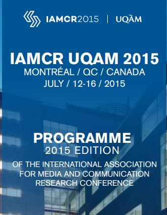 IAMCR 2015 Programme