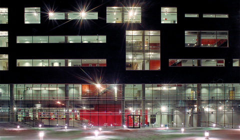 UQAM, site of IAMCR 2015, by night