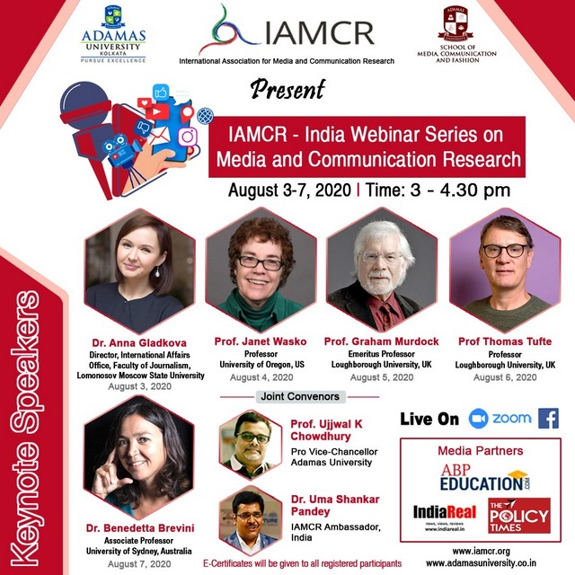 IAMCR-India Webinar Series