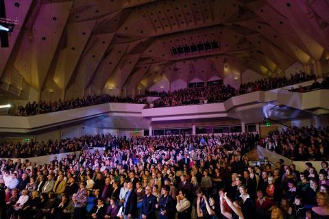 Photo: Tampere Hall Main Auditorium / Joonas Loueranta