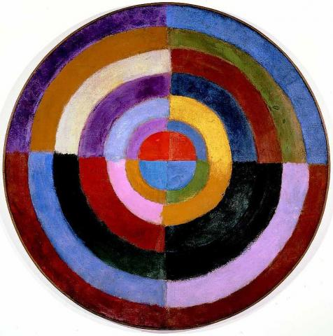 Robert Delaunay, 1912–13, Le Premier Disque. Source: https://en.wikipedia.org/wiki/Abstract_art